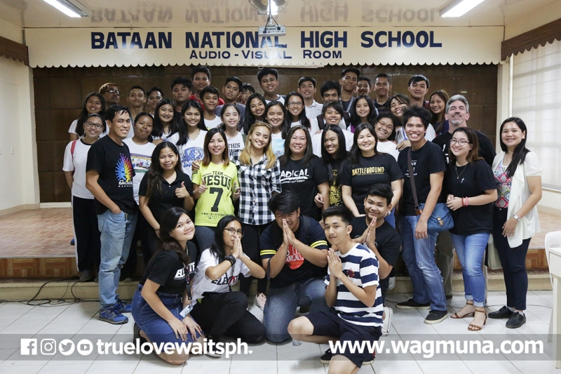 Bataan National HS: Love Revo Workshop