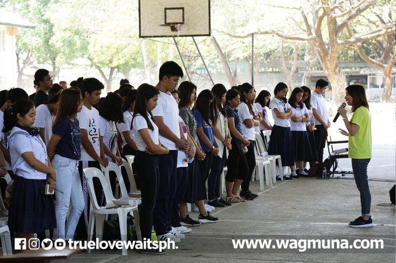 Bataan National HS: Love Revolution Talk