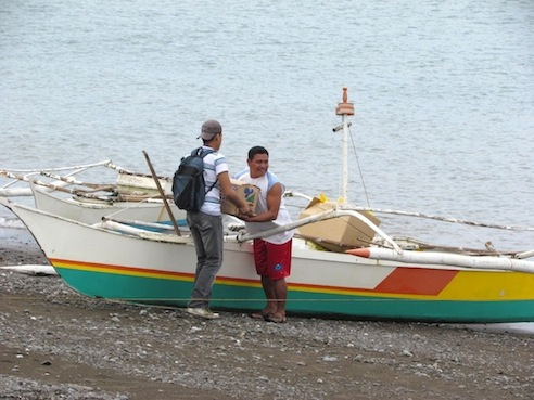 Leaving for Malalison Island. (Photo Credit: Elero Soberano of Discover Panay Island)