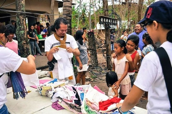 This is the last line we catered to because the goods are girls' clothing. (Photo Credit: Elero Soberano of Discover Panay Island)