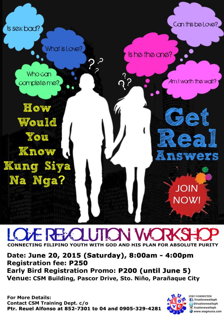 TLW Love Revolution Workshop